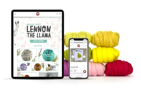 41% increase in orders 2 weeks after launch of site for World of Wool